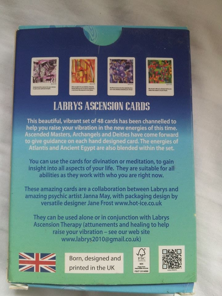 Labrys Ascension Cards