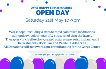 Gorge open day canva