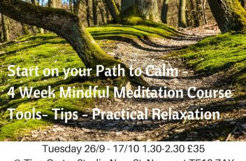 Mindful Meditation Course Sept