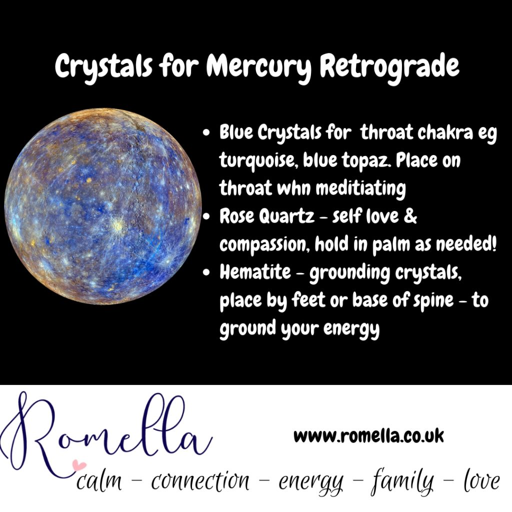 crystals to use in a mercury retrograde